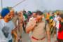 बैकफुट सीएम योगी - हिंसक किसानों की मांगों के आगे टेके घुटने